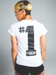 Choosy Luvas & Co. Raise Your Value Tee